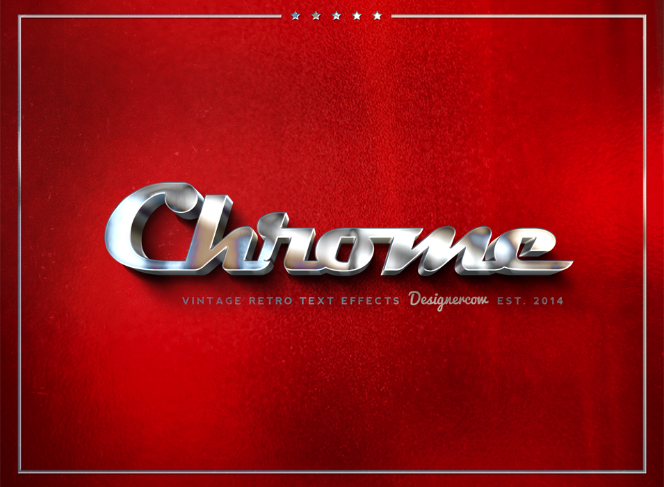 Chrome Vintage Style by designercow