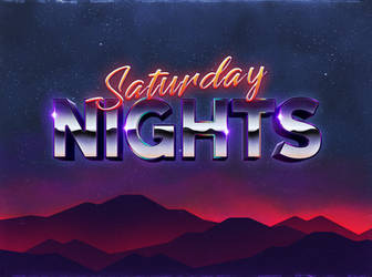 80's Text Effect V3 06 by designercow
