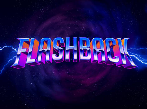 80's Text Effect V3 01