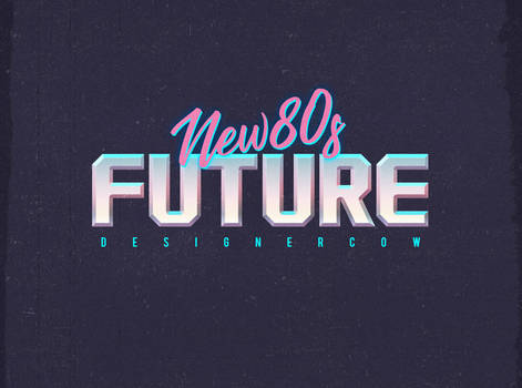 80's Text Effect V3 08
