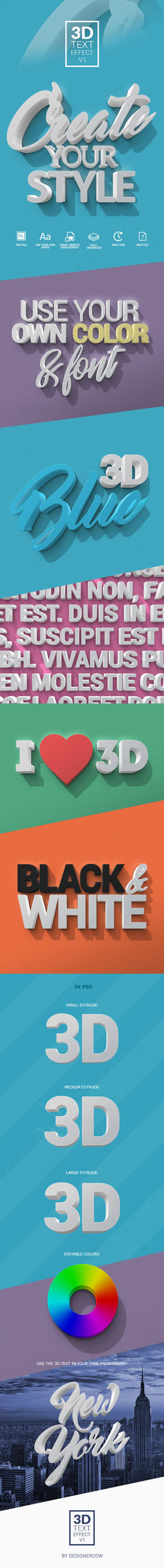 Preview3DTextEffectV1 by designercow