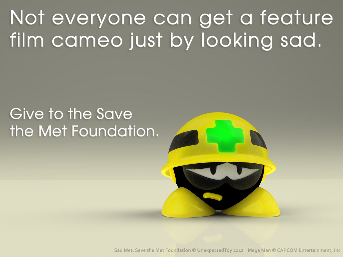 Sad Met: Save the Met Foundation by UnexpectedToy