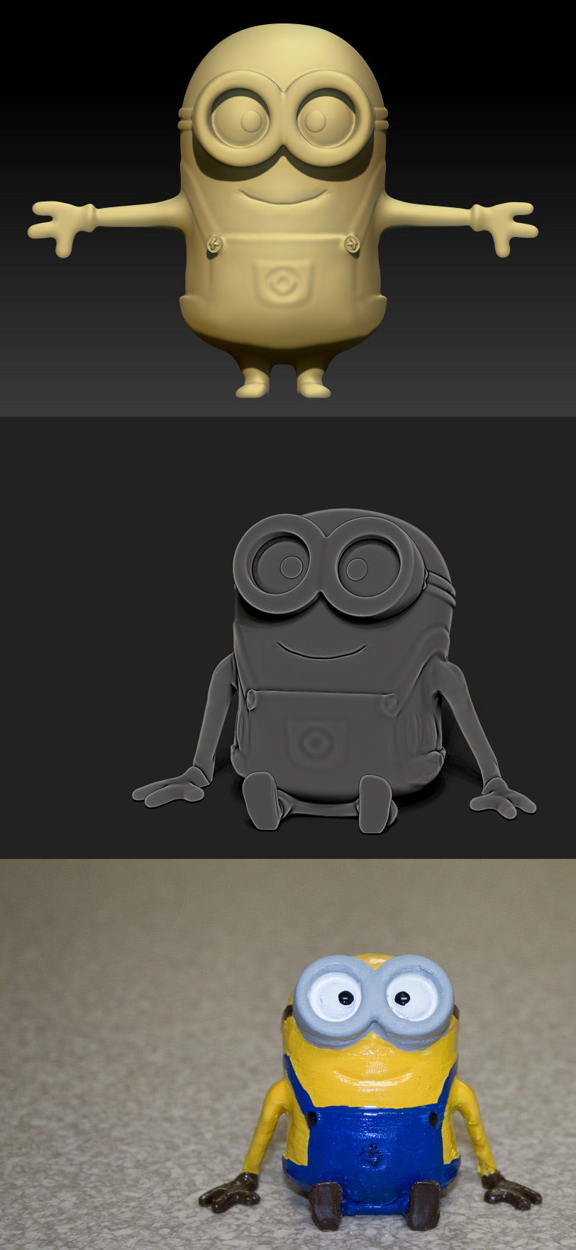 Printed 'Despicable Me' Minion by UnexpectedToy