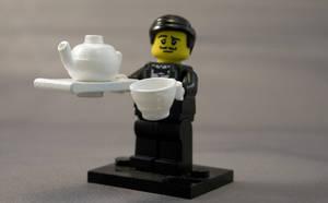 Lego China Teaset in White