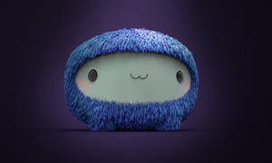 Zbrush Doodle Day 922 - Fluffy Toy by UnexpectedToy