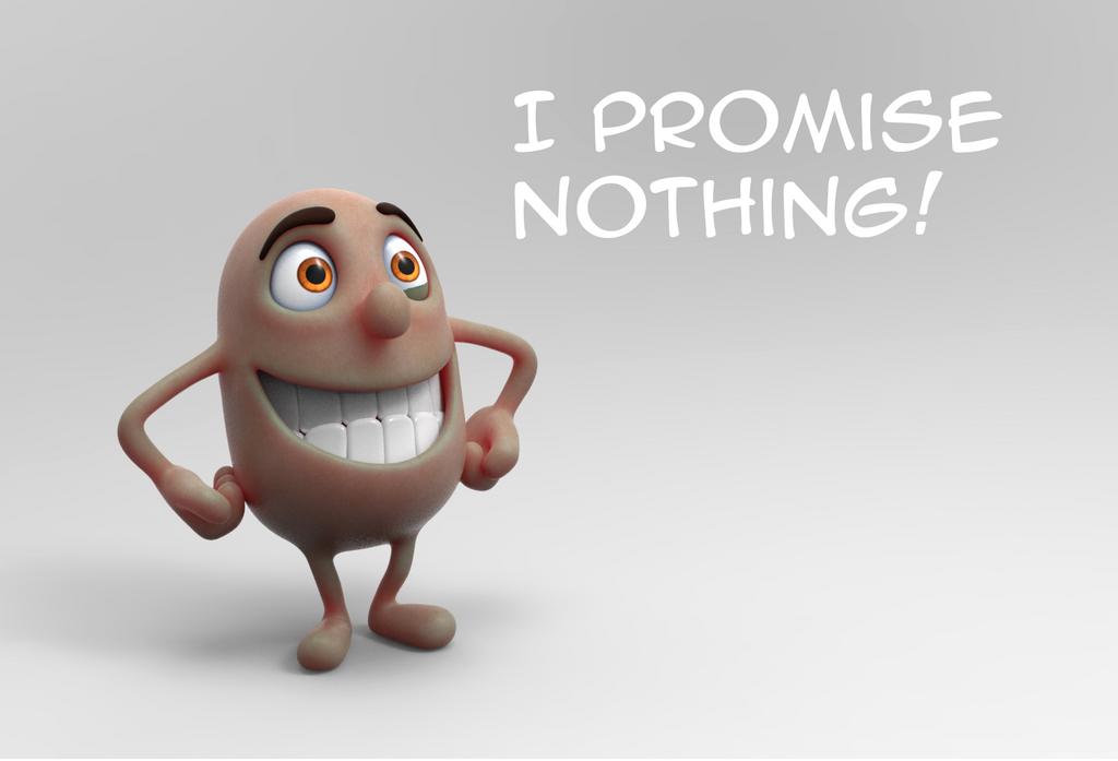 Zbrush Doodle Day 953 - I Promise Nothing by UnexpectedToy