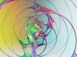 Zbrush Doodle Day 983 - Abstract Glass Spun Net