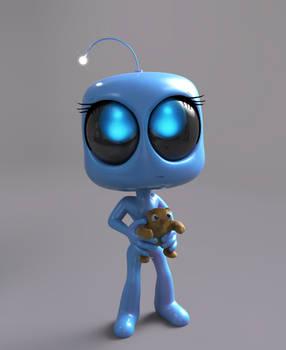 Zbrush Doodle Day 1011 - Robot Kid Version 43