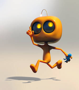 Zbrush Doodle Day 1019 - Robot Kid Version 44