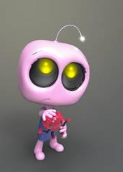 Zbrush Doodle: Day 1113 - Robot Kid Version 48