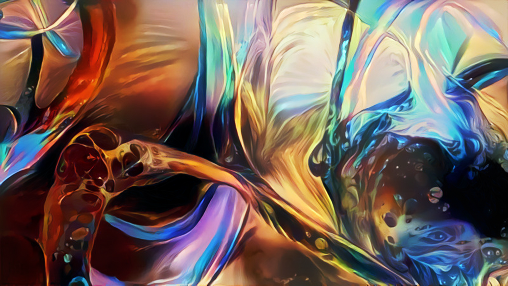 Zbrush Doodle: Day 1326 - Fluid Energy by UnexpectedToy