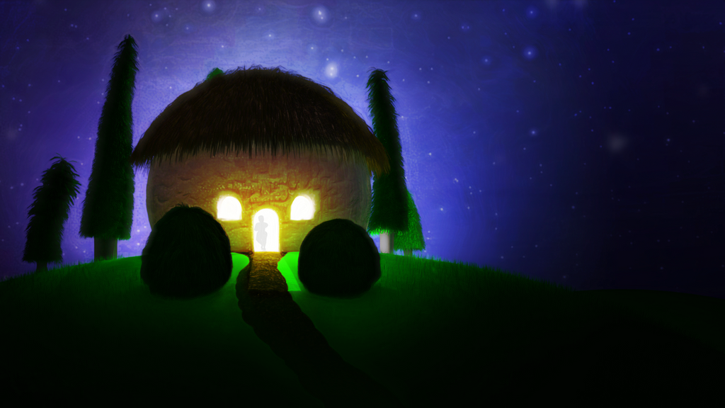 Zbrush Doodle: Day 1327 - Cozy Hut by UnexpectedToy