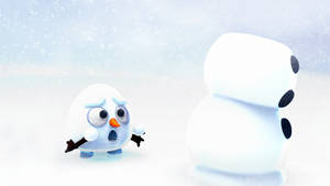 Zbrush Doodle: Day 1493 - Snow laughing matter by UnexpectedToy