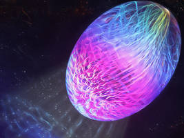 Zbrush Doodle: Day 1526 - Galactic Seed by UnexpectedToy