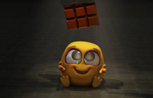 Zbrush Doodle: Day 1563 - Want Candy by UnexpectedToy