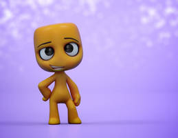 Zbrush Doodle: Day 1587 - Charming Confidence by UnexpectedToy