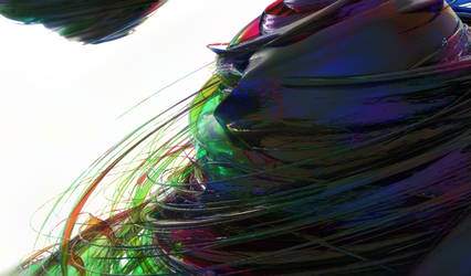 Zbrush Doodle: Day 1664 - Spun Glass Whisps