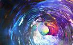 Zbrush Doodle: Day 1693 - Translucent Swirl