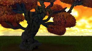 Zbrush Doodle: Day 1710 - Sunset