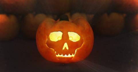 Zbrush Doodle: Day 1749 - Festive Pumpkin