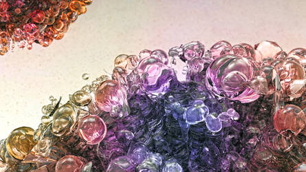 Zbrush Doodle: Day 1753 - Color cascade