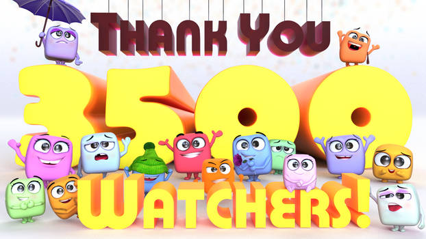 Zbrush Doodle: Day 1815 - Thank you 3500 Watchers!