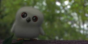 Zbrush Doodle: Day 2012 - Owlet