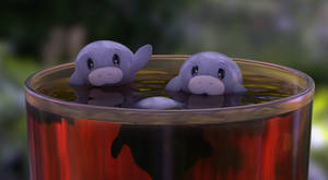 Zbrush Doodle: Day 2226 - Cup of Manatee