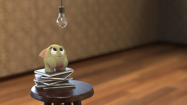 Zbrush Doodle: Day 2311 - Busted Bulb