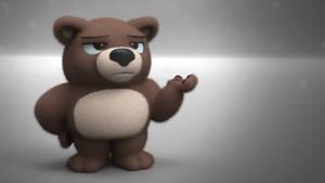 Zbrush Doodle: Day 2373 - Presentation Bear
