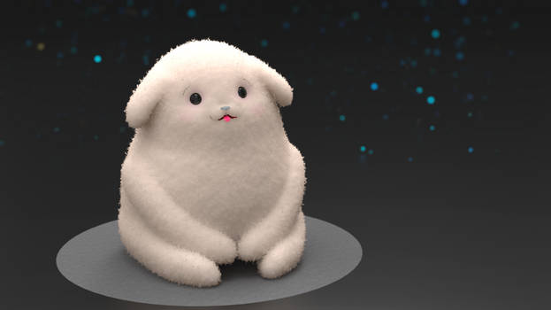 Zbrush Doodle: Day 2393 - Mindful Moment