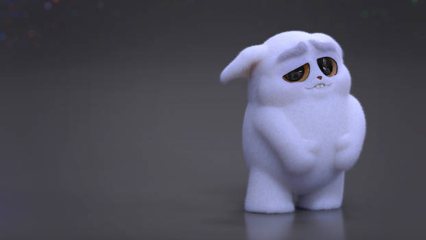 Zbrush Doodle: Day 2441 - Tired and Fluffy