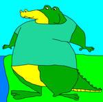 Medford the Alligator by KodyBoy555