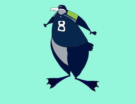 Victor the Seahawk by KodyBoy555