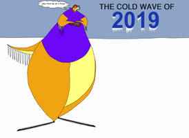 Kody the Otter and the cold wave of 2019 by KodyBoy555