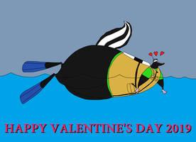 Kody the Skunk in love by KodyBoy555