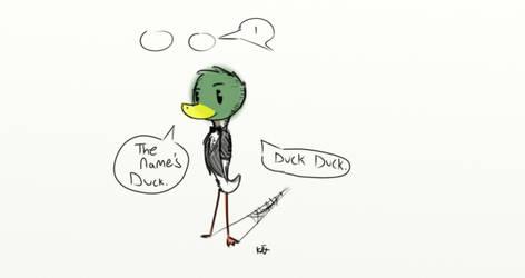 Double-O duck