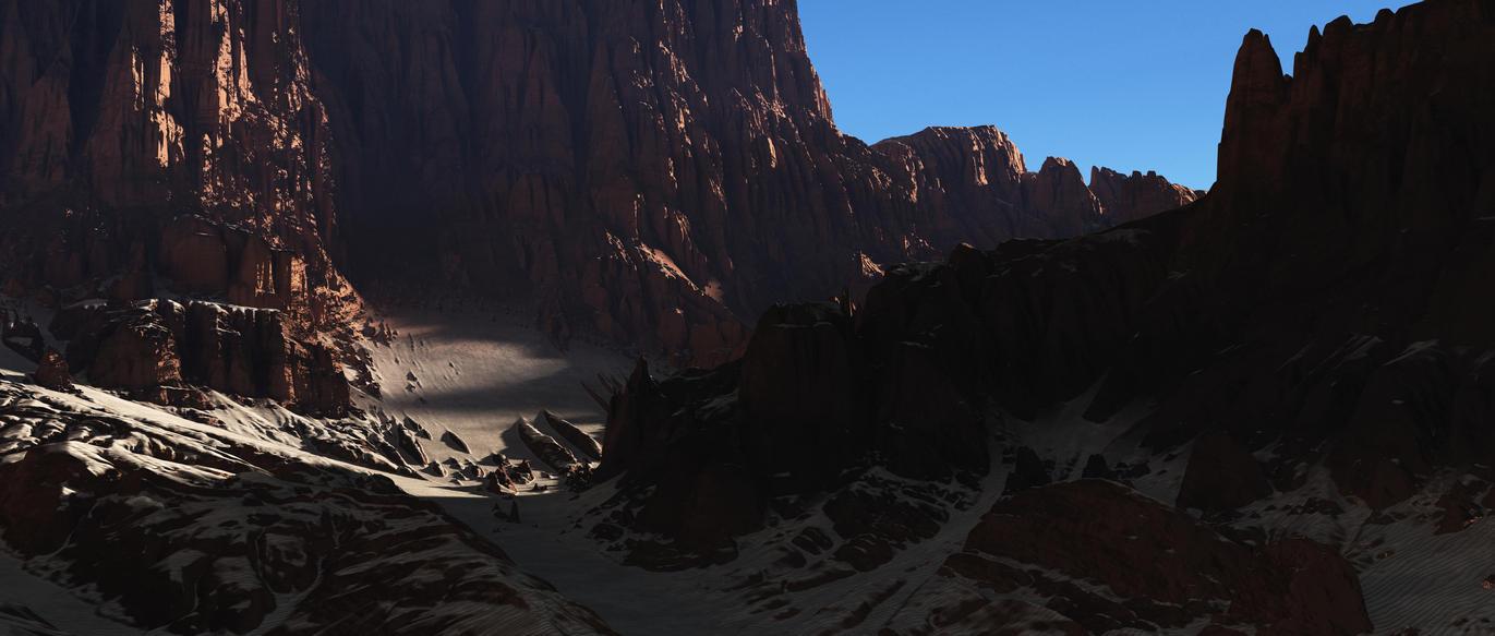 Desert passage by Leafangel