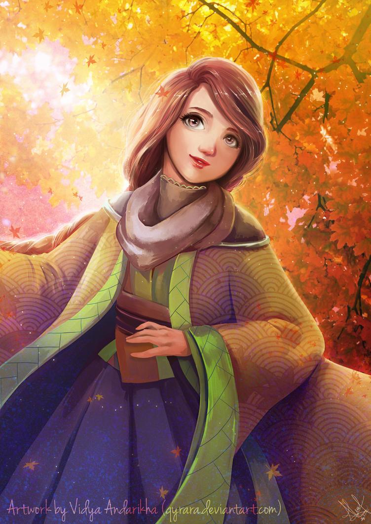 Heart of Autumn by Qyrara