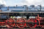 Side view on CSD, Czechoslovak steam locomotive