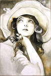 Girl from 1920s