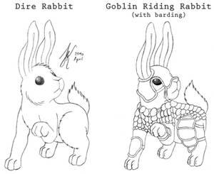 Goblin Riding Rabbit