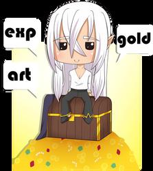 [LS] Gold / EXP / Art Tracker