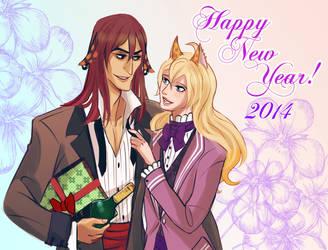 Happy New Year 2014 by RealDandy