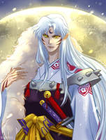 Lord Sesshomaru by RealDandy