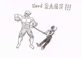 Nerdrage! by RikThunder