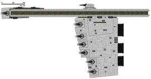 (ALT SW) Quadrachion Enforcer Class Frigate