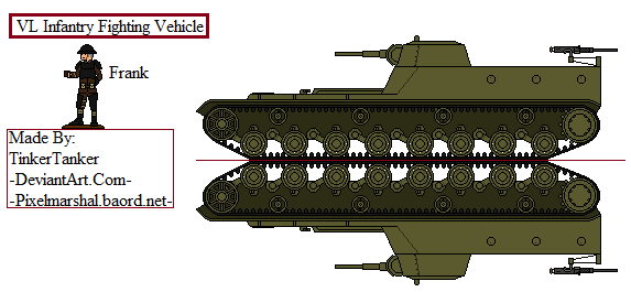 (ALT) Soviet VL infantry fighting vehicle by TinkerTanker44432