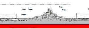 (ALT) United States-Class BattleCarrier(1944) by TinkerTanker44432