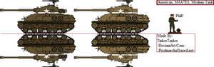 (ALT) American, M4A7E8, Medium Tank